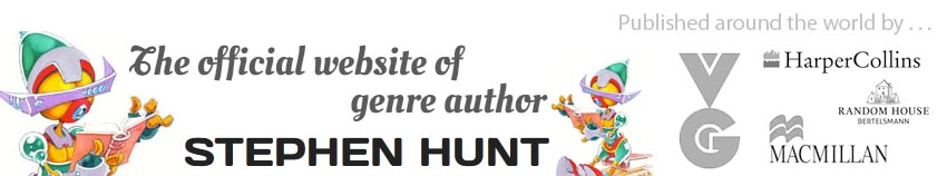 Stephen Hunt author