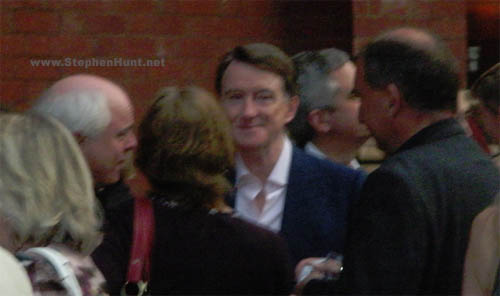Peter Mandelson at the HarperCollins summer party