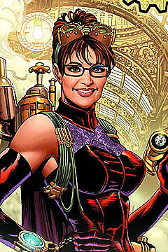 Sarah Palin the steampunk