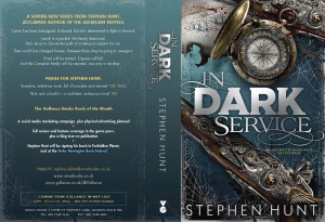 In Dark Service bound proof copy