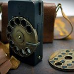Steampunk mobile phone