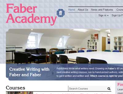 The creative writing courses con?