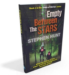 Empty Between the Stars: a new science fiction novel hits the book stores.