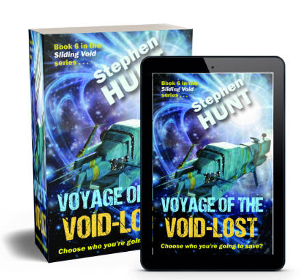 Voyage of the Void Lost launches - universal joy and peace to greet new novel?