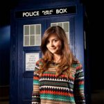 First Dr Who pic of Jenna-Louise Coleman